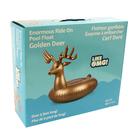 Enormous Golden Deer Ride-on Float