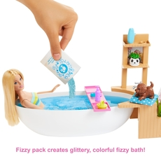 Barbie - Fizzy Bath Doll and Play Set