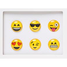 Emoji Home Button Sticker Pack Includes 6pcs