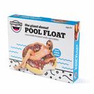 Chocolate Donut Pool Float