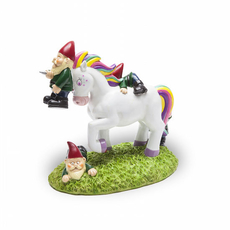 Unicorn Attack Garden Gnomes