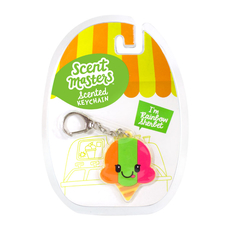 Scented Keychains Rainbow Sherbet