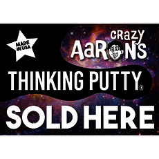 Putty Sold Here NEW LOGO Window Cling