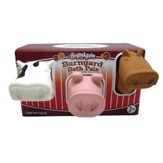 Barnyard Bath Pals 3 Set