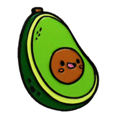 Enamel Pin - Avocado