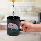 Colour Changing Manatee Mug