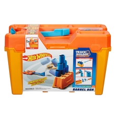 Hot Wheels - Track Builder Barrel Box