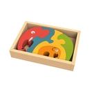 Elephant Family Puzzle