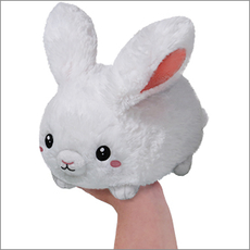 Mini Squishable Fluffy Bunny