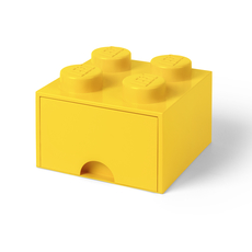 LEGO Storage Drawer 4 Yellow