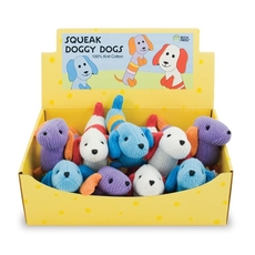 Display Box/Squeak Doggy Dog