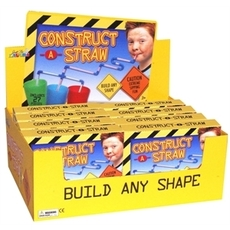 Construct-A-Straw Counter Display