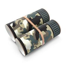 camo binoculars green