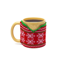 Ugly Sweater Mug (Knit Wrap)