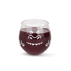 The Winezilla Stemless Wine Glass