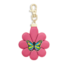 Flower Zipper Pull and Mariposa Snap