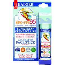 SPF35 All Season Face Stick-Unscented .65oz Stick