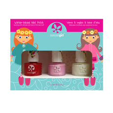 Trio Nail Beauty Kit- Ballerina Beauty with decals
