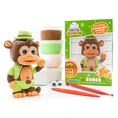 Air Dough Collectibles- Bongo Monkey