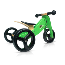 Green Tiny Tot Convertible Bike