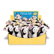 Display Box - K'NIT Squeak Easies Cows