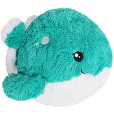 Mini Squishable Whale, Limited Edition