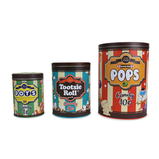 Candy Shop Canister Set (Set of 3)