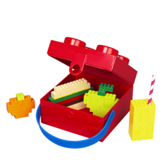 LEGO Box with Handle Red