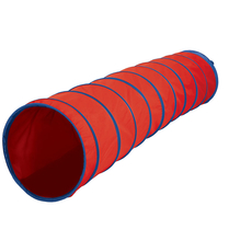INSTITUTIONAL 6FT X 19IN TUNNEL - RED/BLUE
