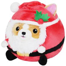 Undercover! Corgi in Santa