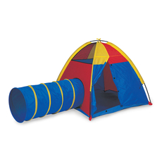 HIDE-ME PLAY TENT AND TUNNEL COMBINATION
