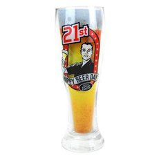 21 - B-Day Beer Glass