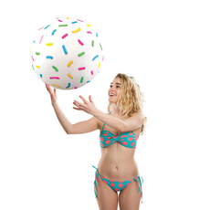 Giant Donut Hole Beach Ball