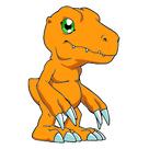 Mini Squishable Digimon Agumon