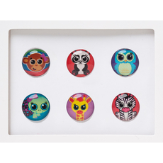 Critters Home Button Sticker Pack Includes 6pcs
