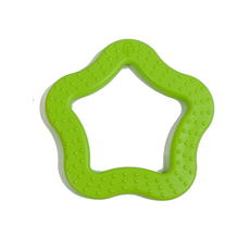 Star Teether Green
