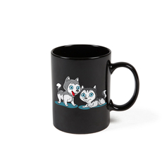 Colour Changing Husky Mug