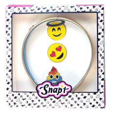 Gold Headband Emoji Set