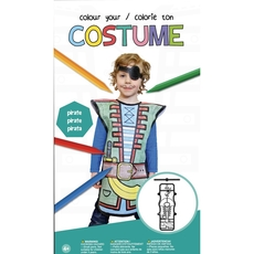 Colour Your Costume - Pirate
