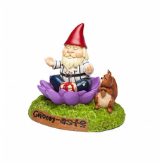 The Gnome-aste Meditation Garden Gnome