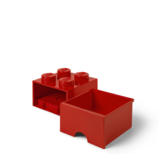 LEGO Storage Drawer 4 Red