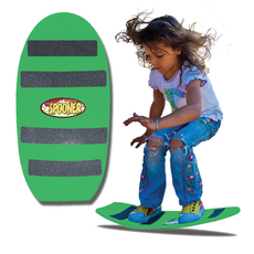 24 inch freestyle spooner board green