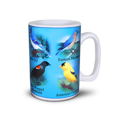The North American Song Birds Musical Mug