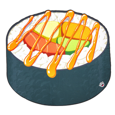 Gigantic Sushi Beach Blanket