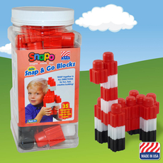 Snap and Go-35 Big Blocks (Red/White/Black)