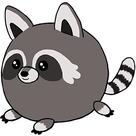 Squishable Racoon II