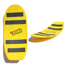 24 inch freestyle spooner board yellow