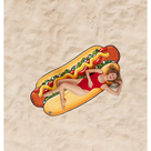 Gigantic Hot Dog Beach Blanket
