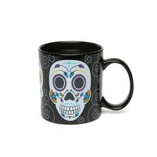 Sugar Skull Colour Changing Mug
