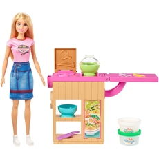 Barbie - Noodle Maker Doll and Playset